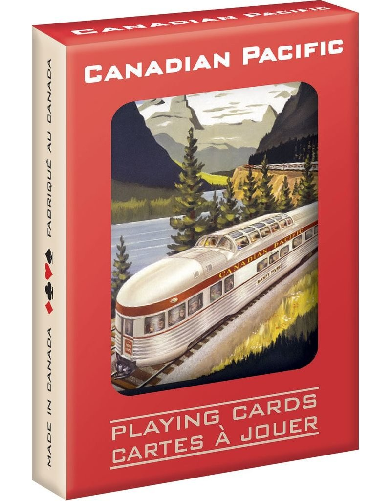 Eurographics Canadian Pacific Playing Cards