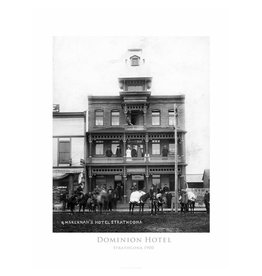 Vivid Archives Dominion Hotel 1900 Poster
