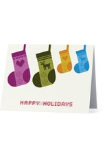 Vivid Print Holiday Stockings