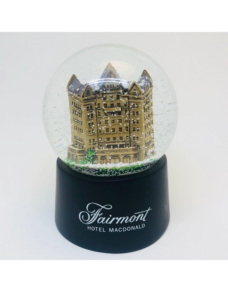 Fairmont Hotel Macdonald Snow Globe