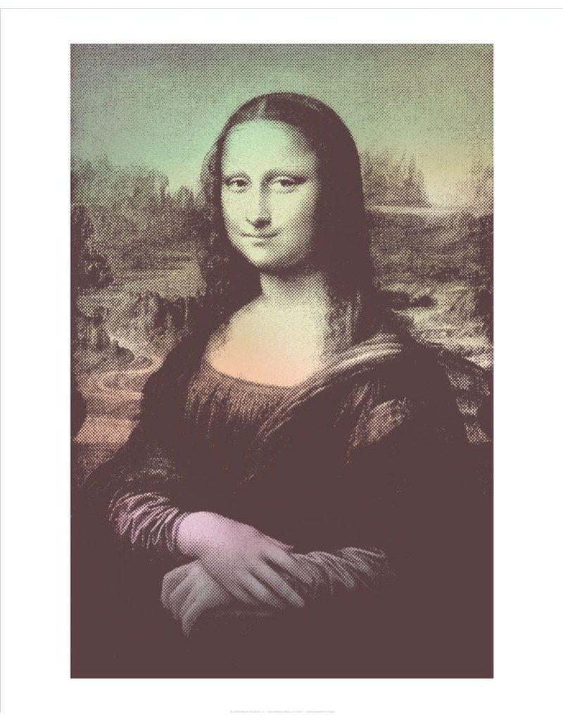 Vivid Print Bee Waeland   Mona Lisa Smirk
