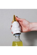 Imm The Little Helpers Gnome Bottle Opener - Gold