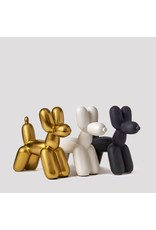 Imm Big Top Balloon Dog Ceramic Bookends – Matte White