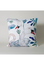 Imm The Dancing Swans White Swans Cushion
