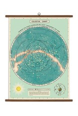 Cavallini Celestial School Chart