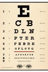 Cavallini Eye Chart Wrap