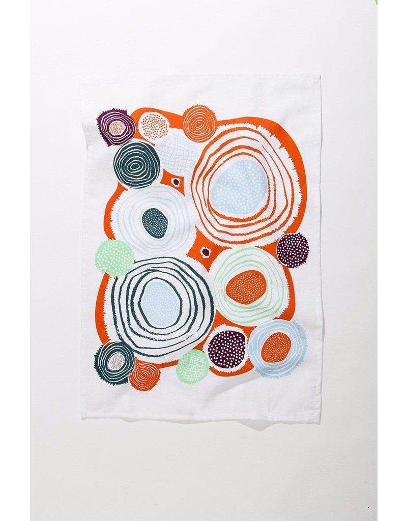 Whirlygig Tea Towel