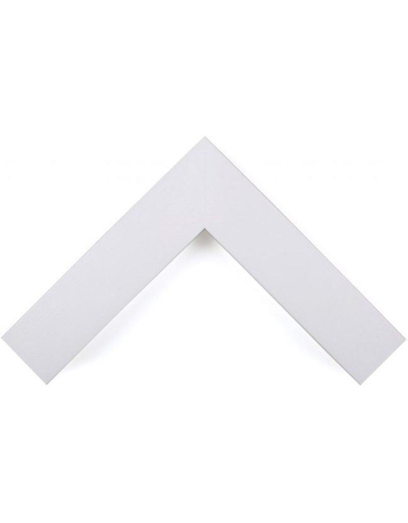 "Ramino Opaque White 2 3/4"""
