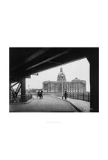Legislature Building from Bridge 1914