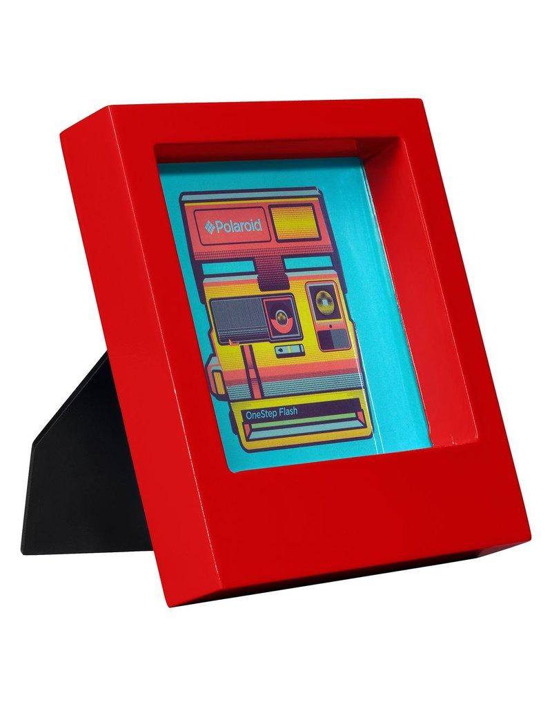Polaroid Desk Frame 4X4 - Red