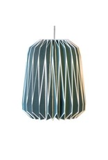 Nuvola Paper Lampshade French Blue