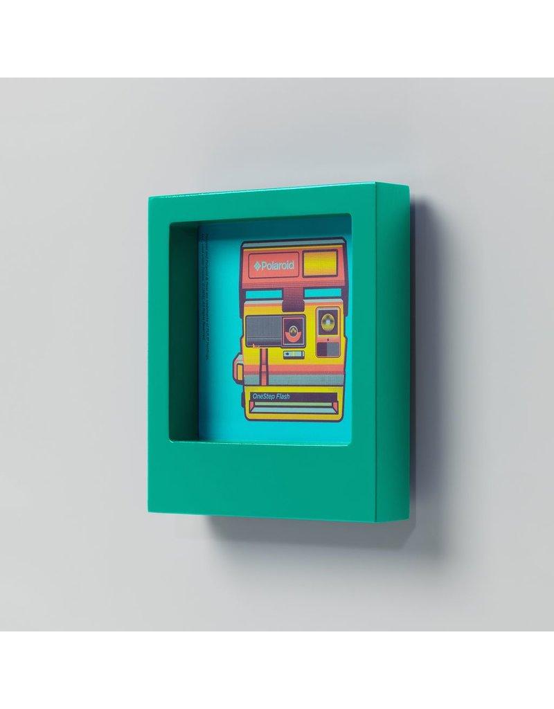 Polaroid Desk Frame 4X4 - Turquoise
