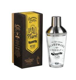 Gentlemen's Hardware; Glass Cocktail Shaker