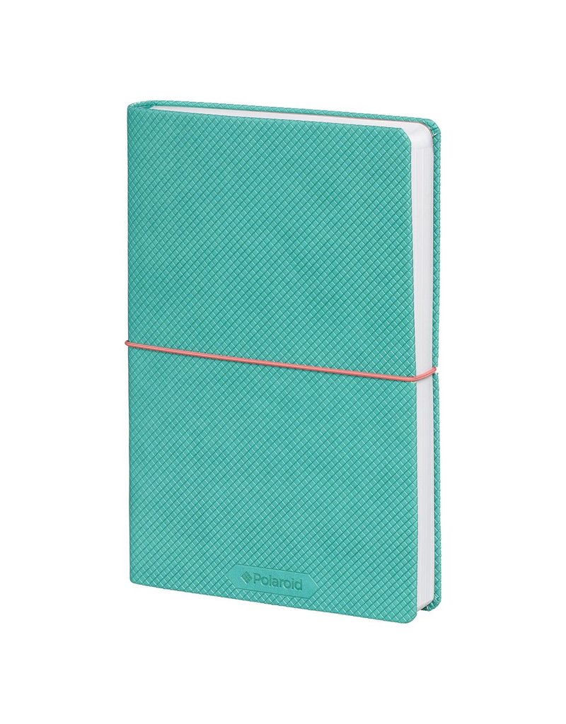 Polaroid Flexi-Cover  Medium Journal - Turquoise