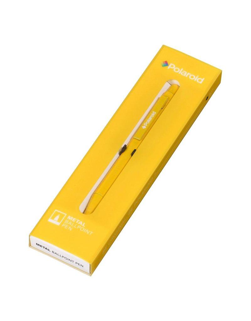 Polaroid Metal Ballpoint Pen - Yellow