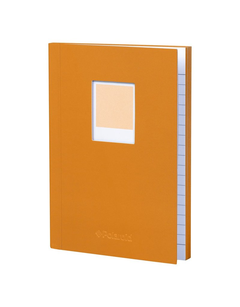 Polaroid Soft Touch Small Notebook Orange
