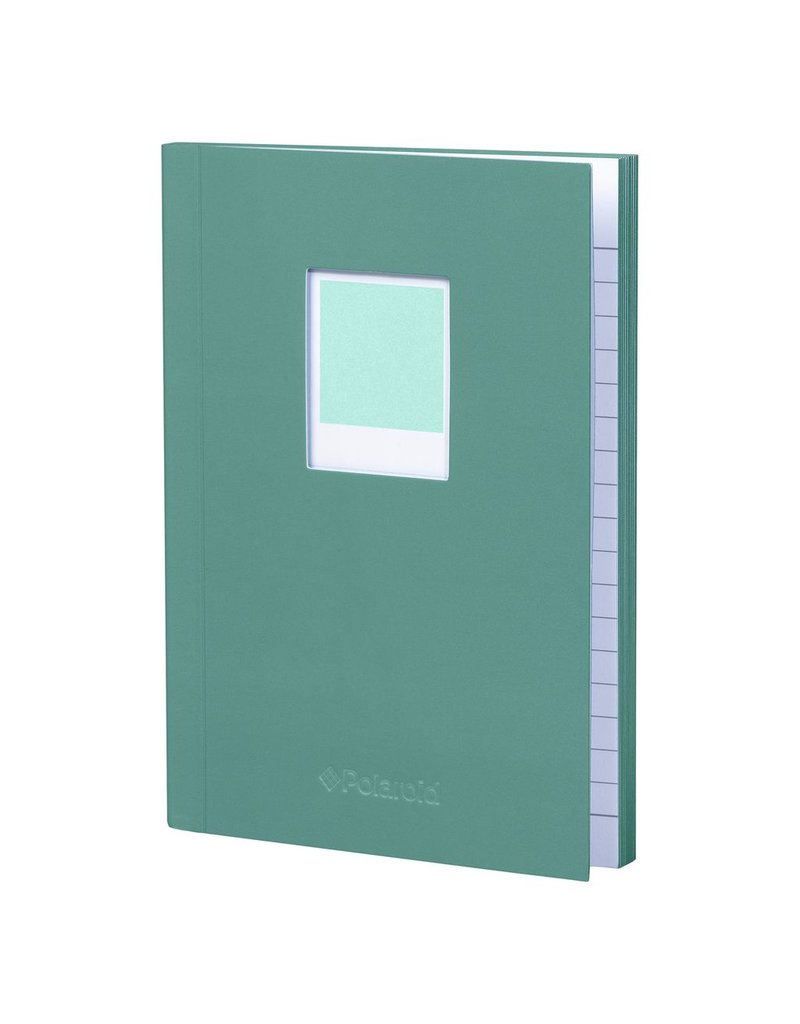 Polaroid Soft Touch Small Notebook Turquoise