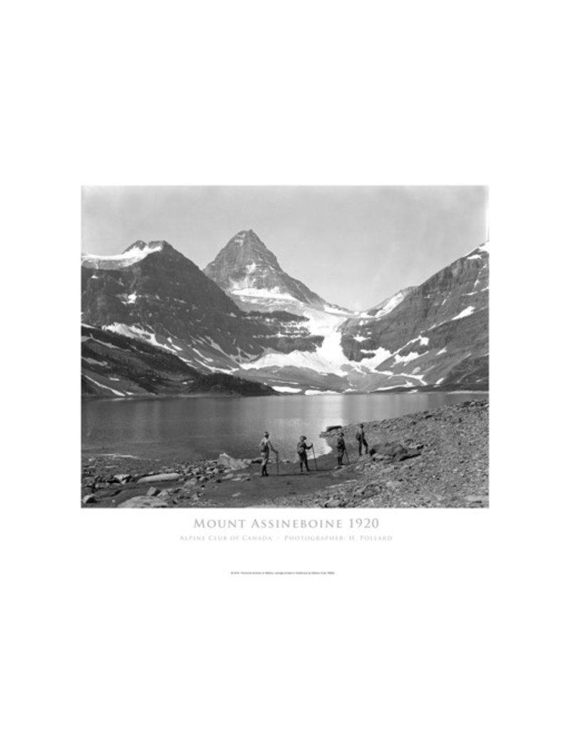 Mount Assiniboine, Alpine Club of Canada c. 1920 Poster