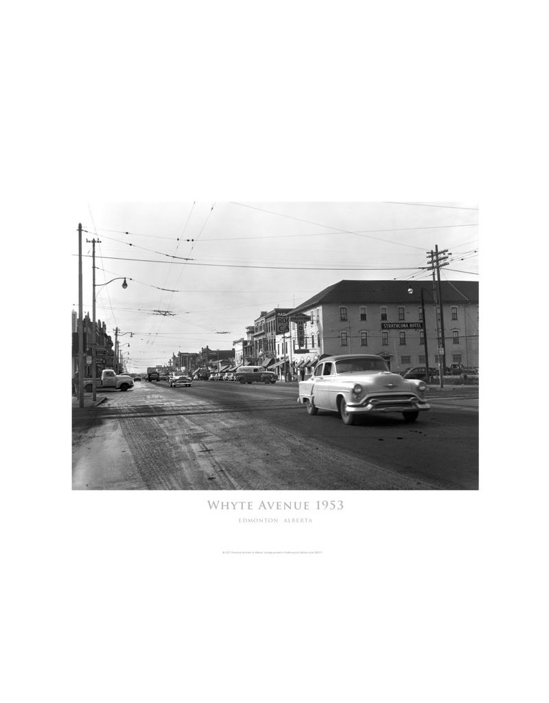 Whyte Avenue 1953 Poster