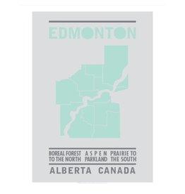 Bee Waeland | Edmonton Map Mint