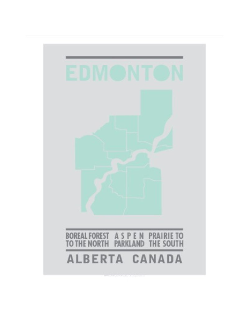 Bee Waeland | Edmonton Map Mint