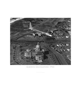 Alberta Legislature 1944 Poster