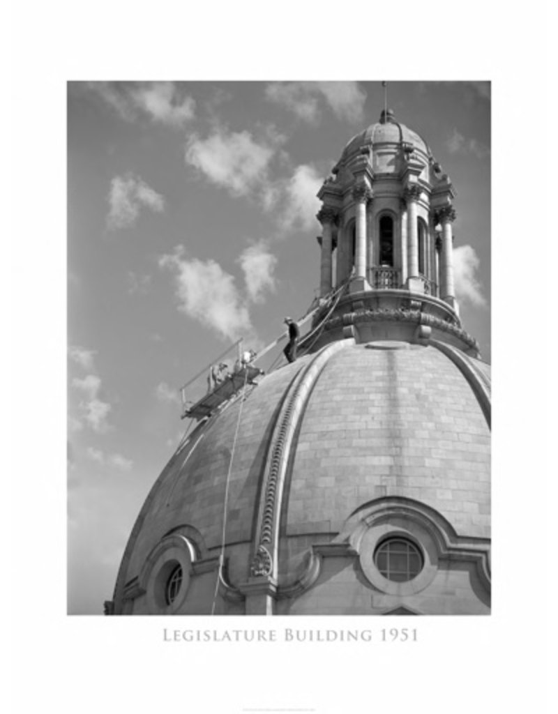 Legislature Building Dome 1951 Poster