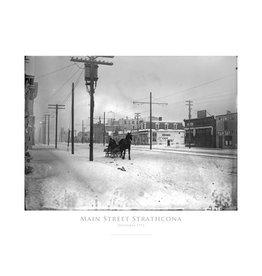 Main Street Strathcona 1913 Poster