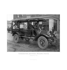 Edmonton Journal Motor Truck 1914 Poster