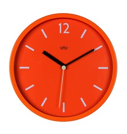 Wall Clock Goldfish Orange 12""