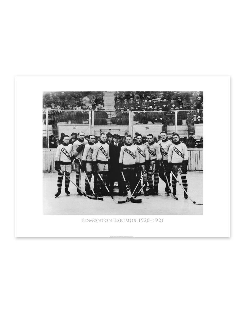 Edmonton Eskimos Hockey Team 1920-1921 Poster
