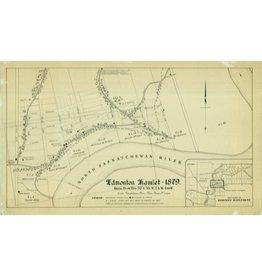 Edmonton Hamlet Map 1879