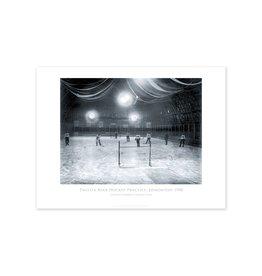 Thistle Rink Hockey Practice Edmonton 1900 Poster