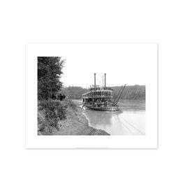HBC Steamer North West at Edmonton - 1896