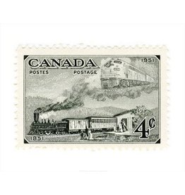 Canada Trains Stamp
