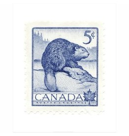 Canada Beaver Stamp