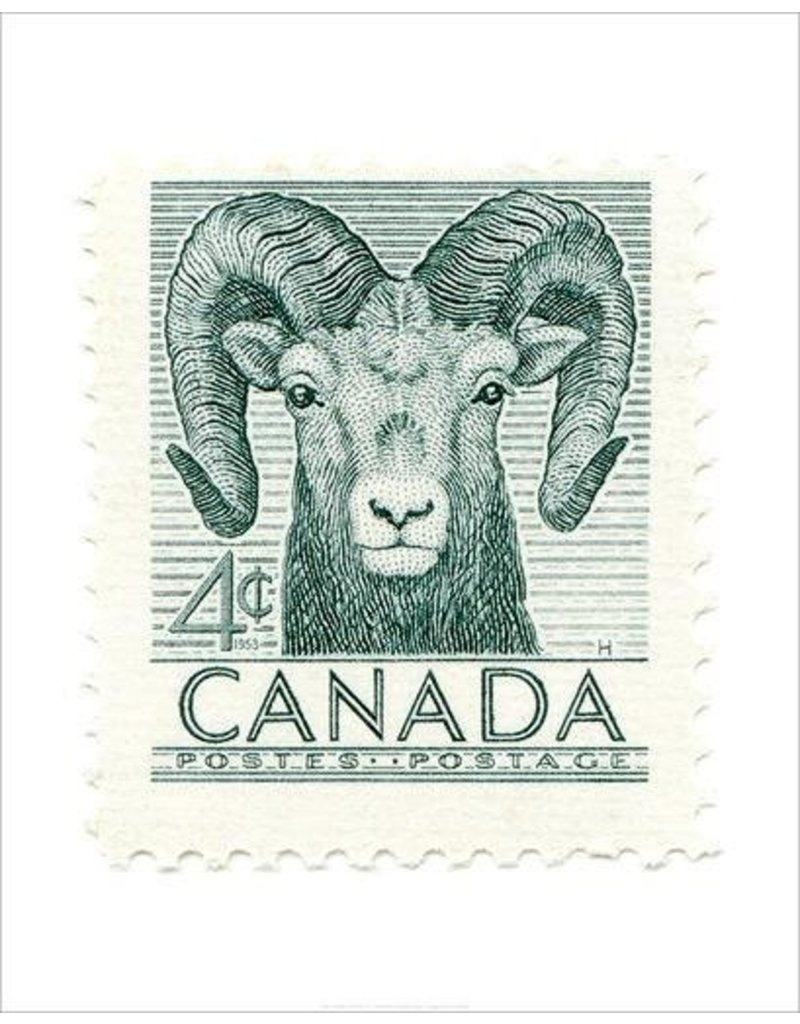 Canada Bighorn Sheep Stamp