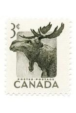 Canada Moose Stamp