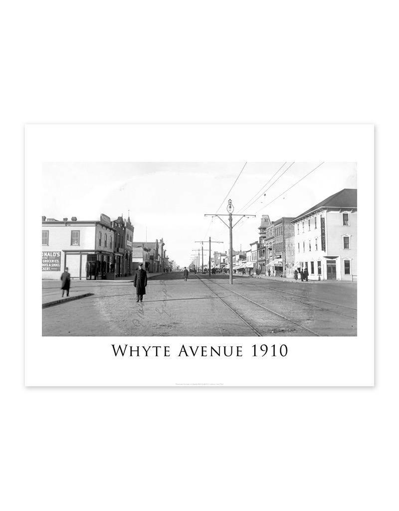 Whyte Avenue 1910 Poster