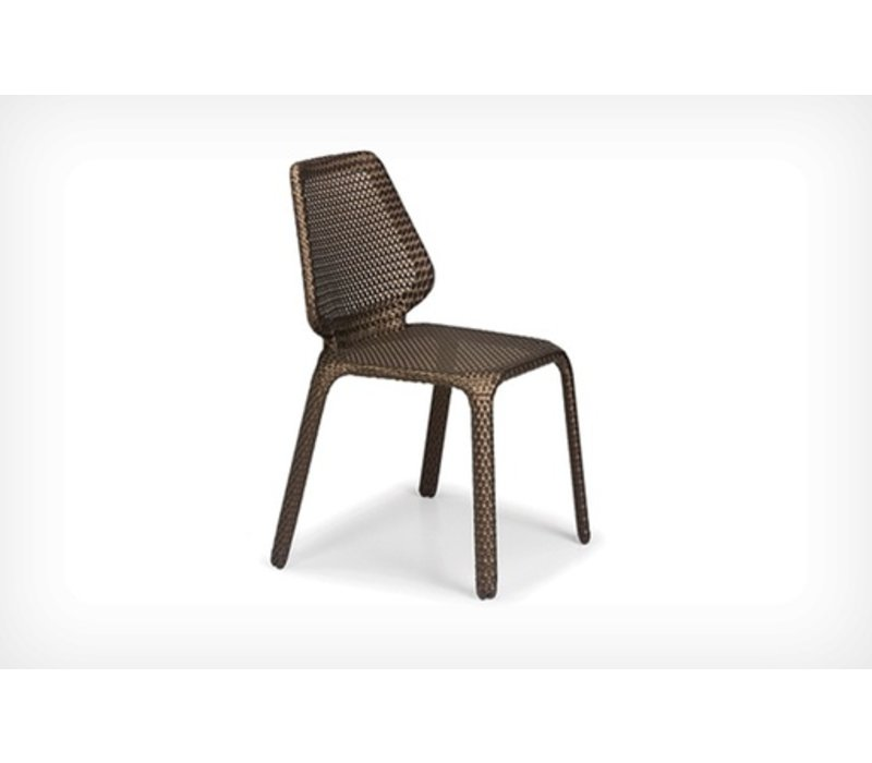 SEASHELL SIDE CHAIR- BRONZE