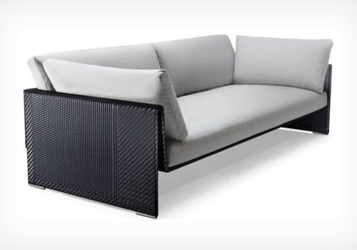 DEDON SLIM LINE 4-SEATER DEEP SOFA
