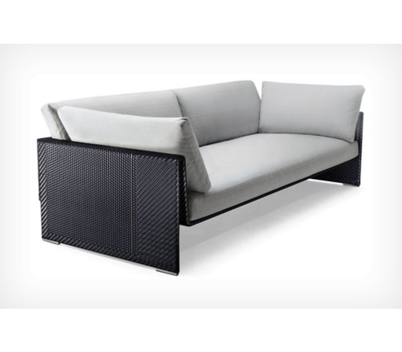 SLIM LINE 4-SEATER DEEP SOFA