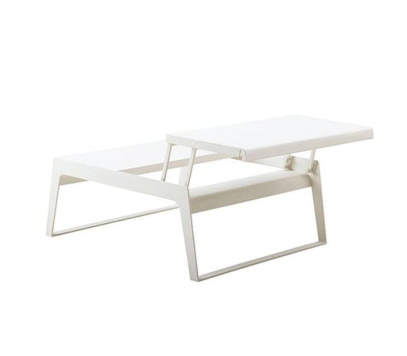 CHILL-OUT COFFEE TABLE-DUAL HEIGHT-WHITE