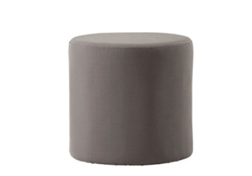 CANE-LINE REST SIDE TABLE/FOOTSTOOL - BROWN