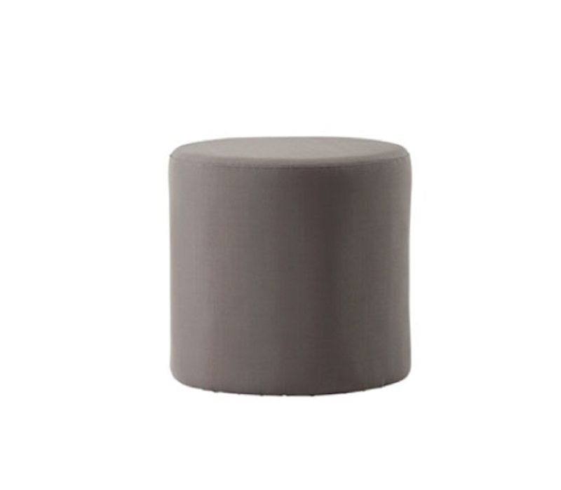 REST SIDE TABLE/FOOTSTOOL - BROWN
