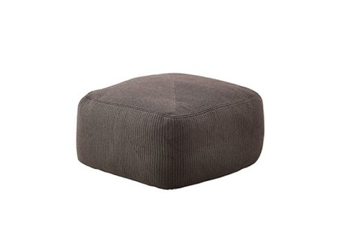CANE-LINE DIVINE FOOTSTOOL IN BROWN