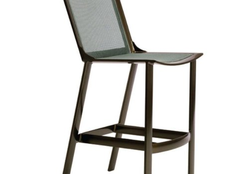BROWN JORDAN PARKWAY PARABOLIC SLING BAR STOOL