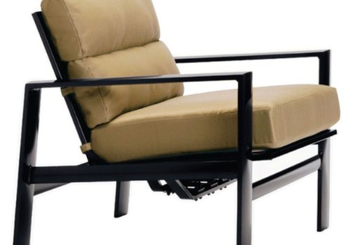 BROWN JORDAN PARKWAY CUSHION MOTION LOUNGE CHAIR