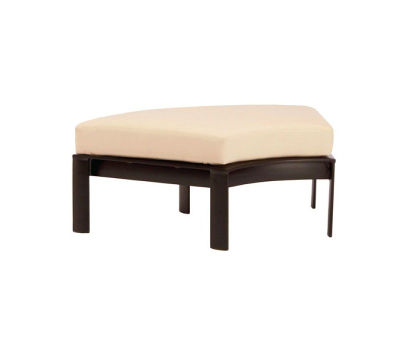 PARKWAY CURVILINEAR 60 DEGREE OTTOMAN