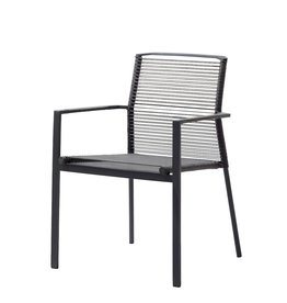 CANE-LINE EDGE CHAIR ANTHRACITE, CANE-LINE ROPE